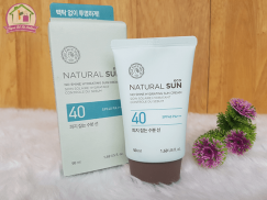 Kem Chống Nắng The Face Shop Natural Sun Eco No Shine Hydrating Sun Cream SPF40 PA+++