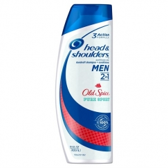 Dầu gội đặc trị gàu Head & Shoulders Old Spice 2 in 1 (400ml)